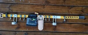 Heavy duty Scaffold tool belt A1A Size From 30 to 34 Large