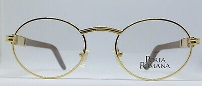 Vintage Rare Porta Romana Ronde Lunettes New old stock 90 S similaire à Cartier GIVERNY | eBay