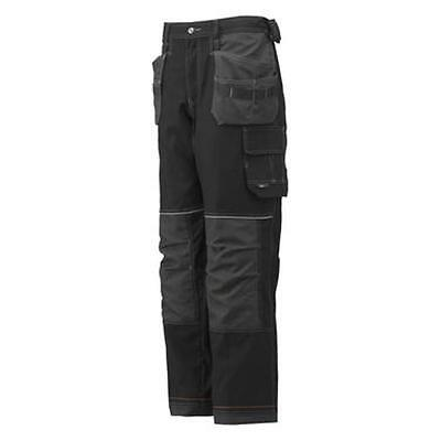 Treu Helly Hansen Chelsea Construction Workwear Trouser 76441 Black/charcoal New! Clear-Cut-Textur