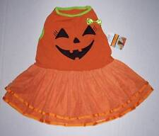 Martha Stewart Pets Halloween Jack O Lantern Dog Costume Dress Size Medium