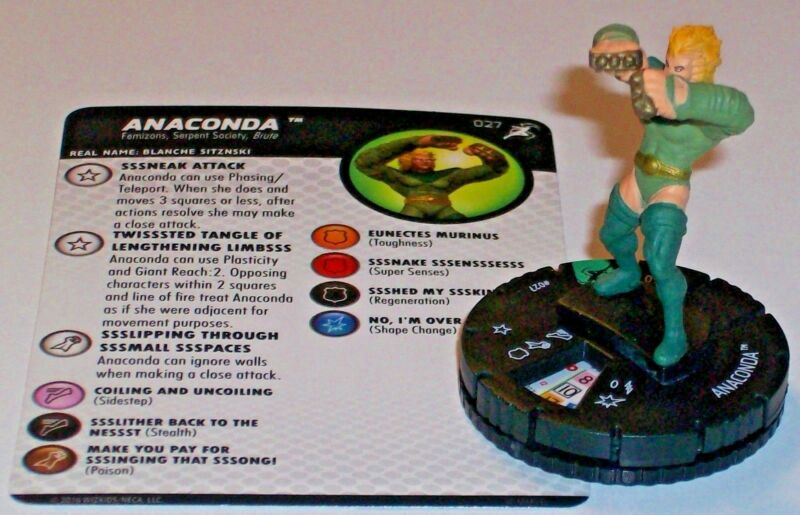 Avengers Infinity DEVIL DINOSAUR /& MOON BOY #G016 HeroClix colossal rare mini
