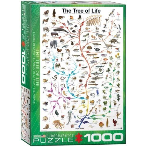 EG60000282 The Tree of Life Eurographics Puzzle 1000 Pc