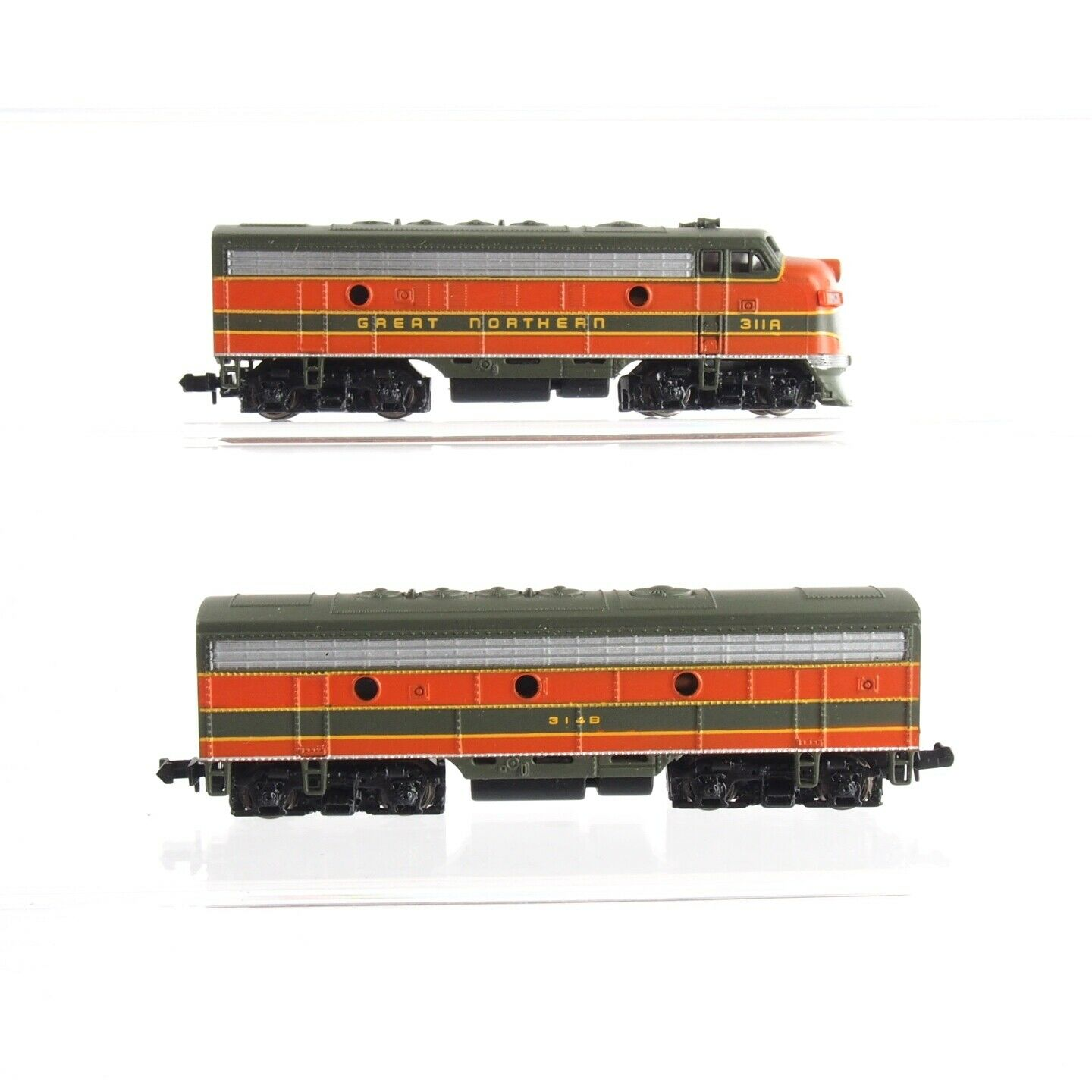 2x Bachmann US-carro trainante della Great Northern, Traccia N  ef30