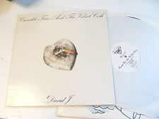 DAVID J CROCODILE TEARS AND THE VELVET COSH LP 1985 UK 1ST press BAUHAUS france!