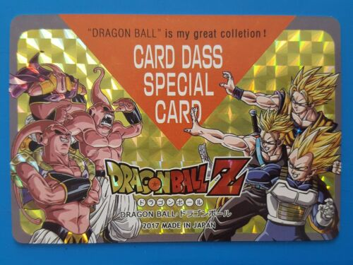 SP Carddass Dragon Ball Fan Prism Saiyans VS Buu Custom HK Card