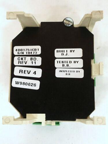 2E3 4D01751C01 BELL ALARM MODULE CUTLER HAMMER WBELL
