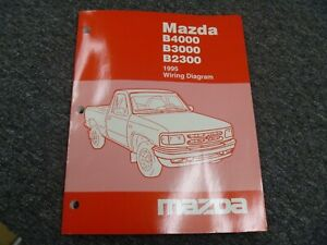 1995 Mazda B2300 B3000 B4000 Truck Electrical Wiring ...