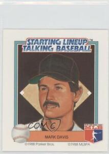 1988 Starting Lineup Talking Baseball San Diego Padres Mark Davis #29