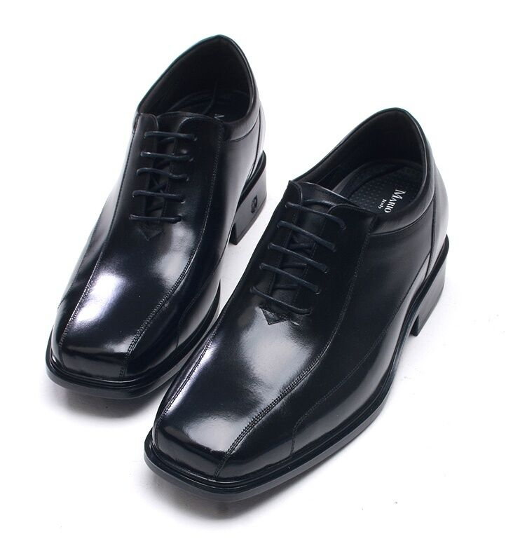 3.2  (8cm) Height Increasing Leather Elevator Formal Dress Mens shoes Z9603