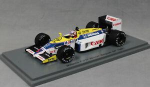 Spark-Williams-FW11-Belgian-Grand-Prix-Win-1986-Nigel-Mansell-S7481-1-43-NEW