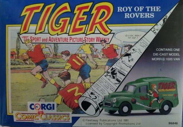 b078fec2b42f76 Corgi Comic Classics Morris 1000 Van Tiger Comics
