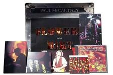 PAUL McCARTNEY Flowers In The Dirt WORLD TOUR PACK Ltd ED ~ CD Postcards + More