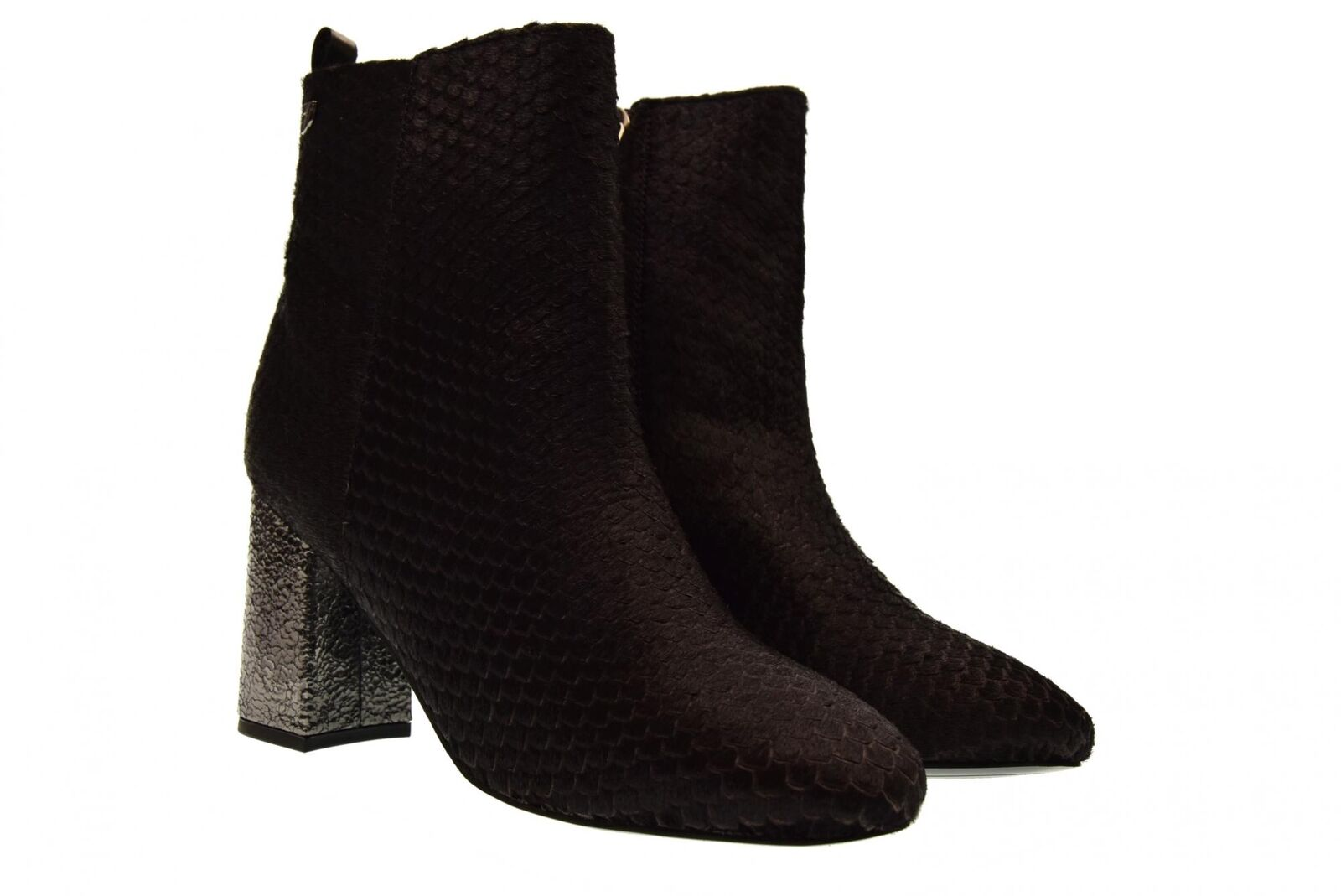 Gioseppo A18f zapatos femme bottines 46237 talon moyen fermeture éclair