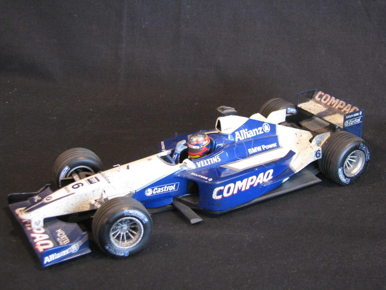 Minichamps  Williams BMW FW23 2001  6 J-P Montoya after the race edition (JE)  économiser jusqu'à 80%