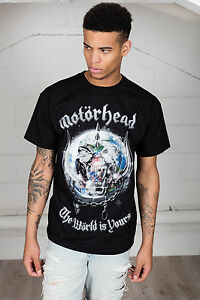 Official-Motorhead-The-World-E-Yours-T-Shirt-Unisex-Bad-Magia-Iron-Fist-Inferno