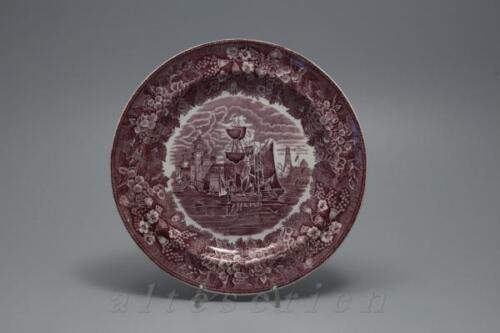 Kuchenteller D 20,6 cm Wedgwood Ferrara violett