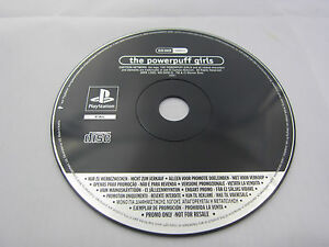 The-Powerpuff-Girls-PROMO-DISC-FULL-GAME-Sony-Playstation-One-PS1-REE-UK-P-amp-P