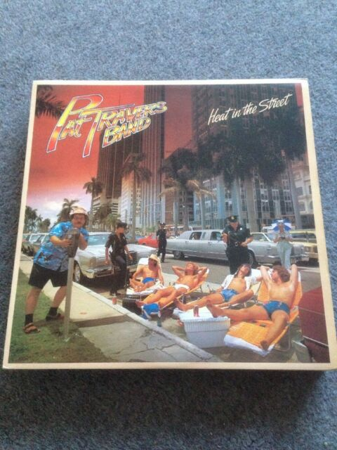 PAT TRAVERS BAND - Heat In the Street - VINYL LP