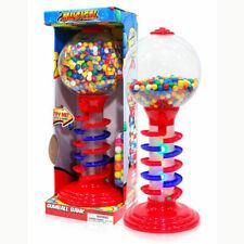3Ft Tall Metal Spiral Fun Gumball Money Bank Machine w// 200 Pcs Gumball NO TAX