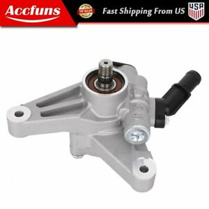 Power Steering Pump Fit For 03-13 Acura MDX Honda Odyssey Accord Pilot 3.0L V6