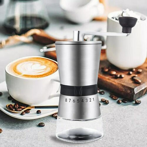 Stainless Steel Coffee Grinder Manual Cone Household Kitchen Tool Coffee Mill