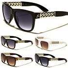 S-M Giselle Vintage Chain Link Women Style Designer Sunglasses