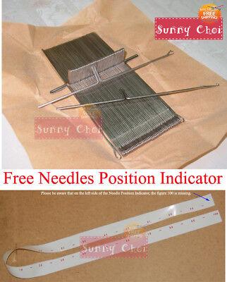 50x Needles 404648001 Fit For Brother Ribbing Knitting Machine KR850 KR838 KR830