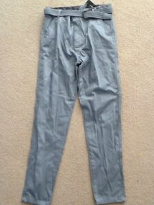 MORRISSEY-GIRLS-CHINO-PANTS-SIZE-16-BNWT-WITH-BELT