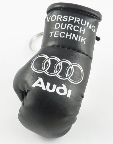 Audi mini Boxing glove Keyring