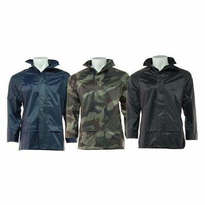 Hunting Fishing Camo Coats UK 2XL Waterproof Camouflage Jacket S