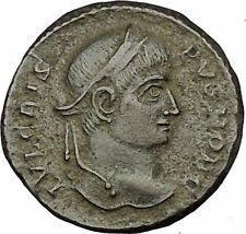 Crispus Constantine the Great son 319AD Ancient Roman Coin Sucess Wreath i52736