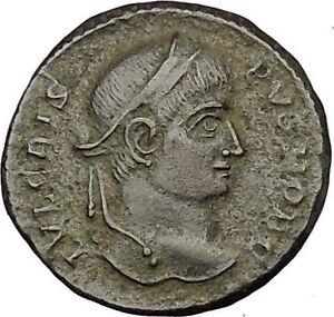 Crispus-Constantine-the-Great-son-319AD-Ancient-Roman-Coin-Sucess-Wreath-i52736
