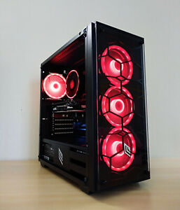 PC GAMING DESKTOP RGB AMD RYZEN 3600 DDR4 SSD RADEON RX 5700XT 8GB WINDOWS 10