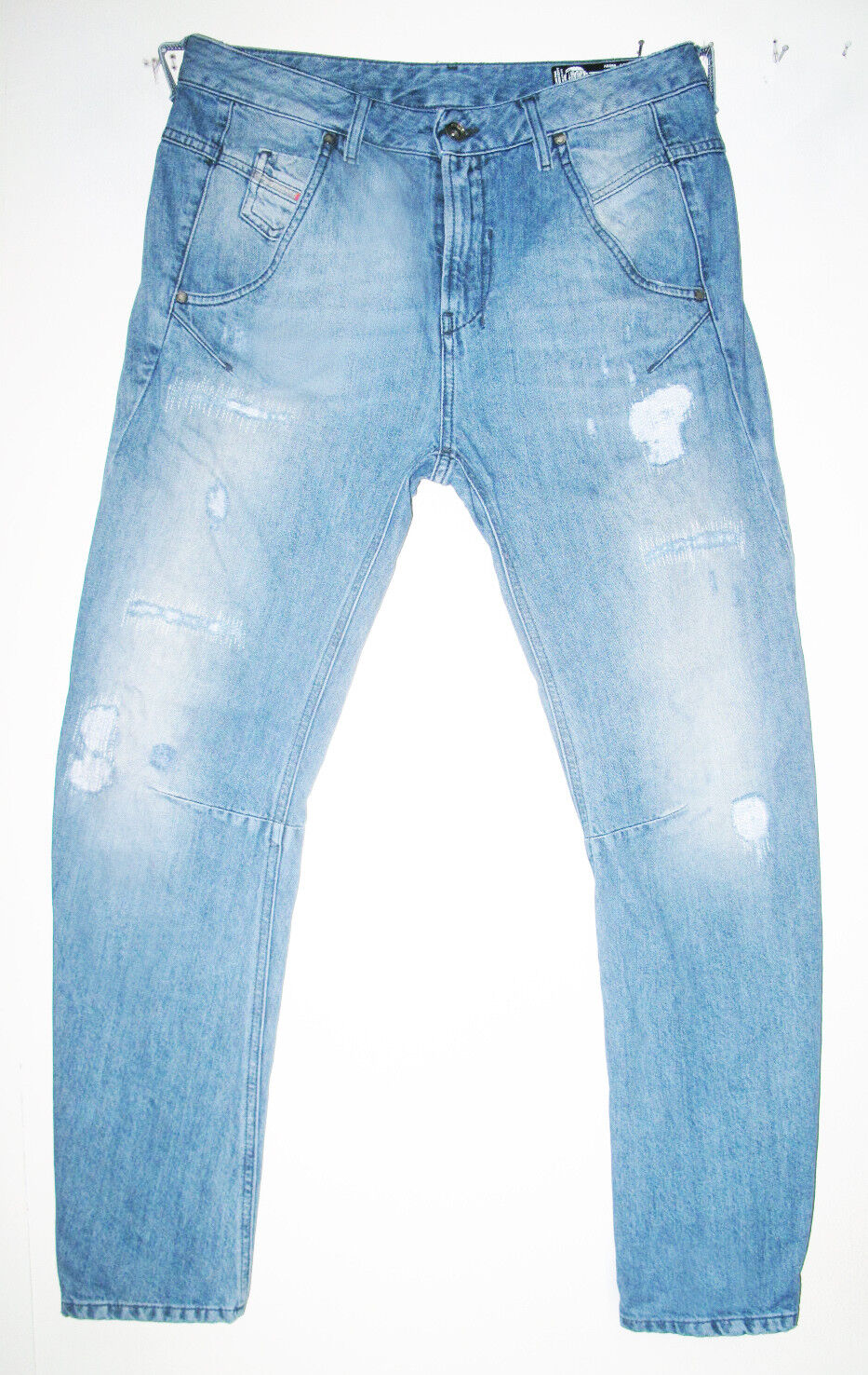 HOT Women's DIESEL @ FAYZA Art 859V RELAXED BOYFRIEND DISTRESS Jeans 6  28 x 34