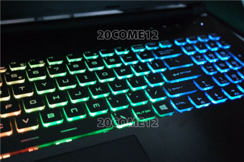 For MSI GP62M 7REX GP62MVR 7RFX GP72 7RDX keyboard Arabic Color Backlit Crystal