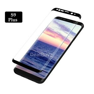For-Samsung-Galaxy-S9-Plus-100-Genuine-Tempered-Glass-Screen-Protector-Black