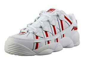 Details about NEW MEN FILA SPAGHETTI LOW SNEAKERS WHITE RED WHITE AUTHENTIC  S/N 1BM00513-128