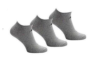 3 6 /& 9 pairs Kappa Sports Running Unisex Ankle Liner Socks UK 6.5-11//EU 40-46