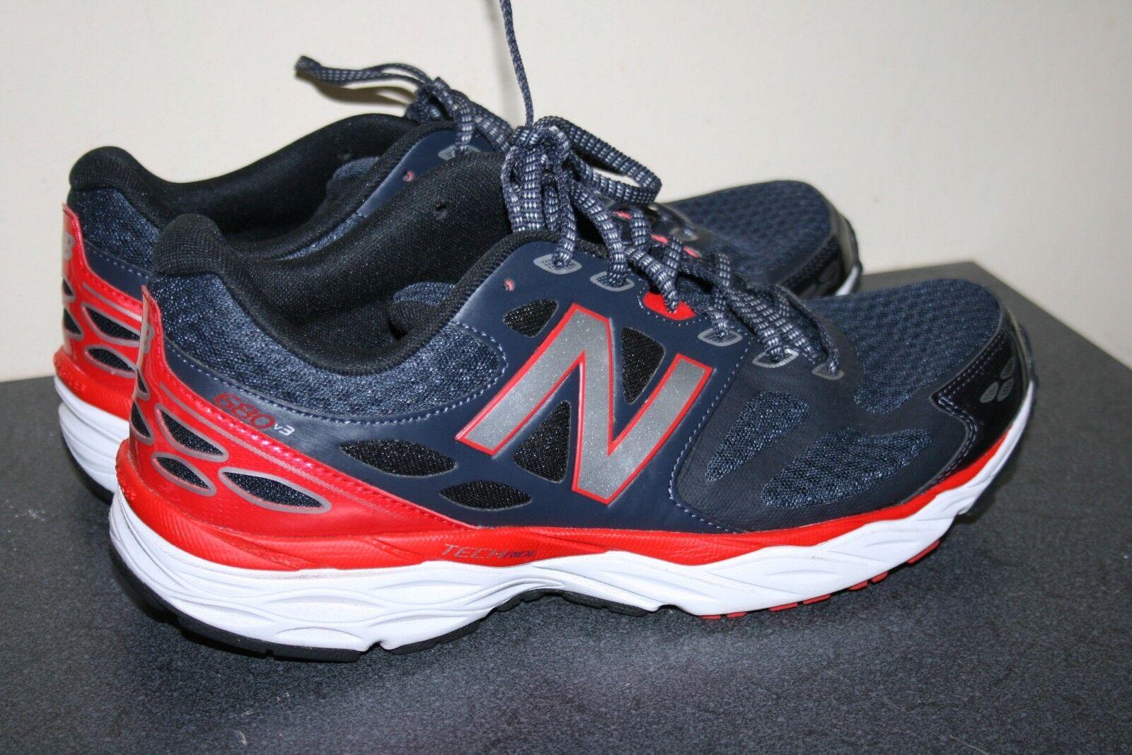 Mens Black & Red New Balance Tech Ride M680LB3 US Size 10.5 D Athletic shoes