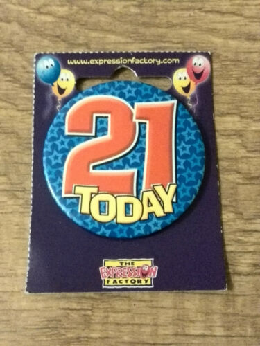 """Buy 1 Get 1 Half Price Age 18,21 /& 30 New 2/"""" Small Round Badges"""