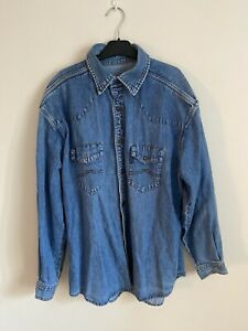 James Dean Denim Shirt - Large