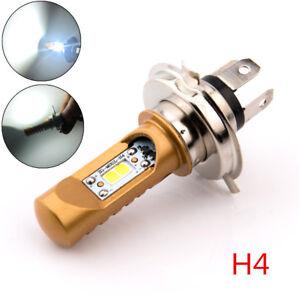 h4 12w wei led roller motorrad scheinwerfer birne fern. Black Bedroom Furniture Sets. Home Design Ideas
