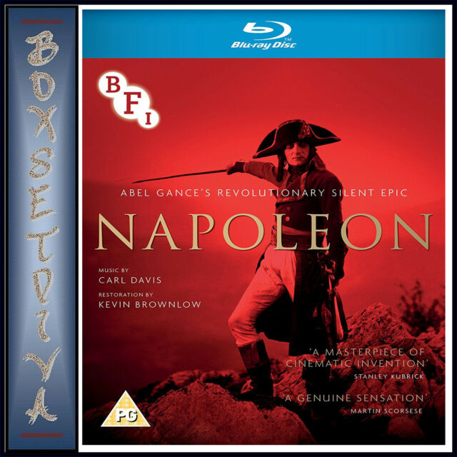 NAPOLEON -by Abel Gance *BRAND NEW BLURAY**