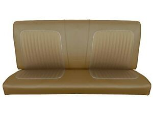Superb Details About 64 Falcon Futura 2 Door Sedan Rear Bench Seat Upholstery Palomino Caraccident5 Cool Chair Designs And Ideas Caraccident5Info