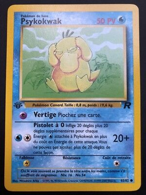 Carte Pokemon MINIDRACO 53//82 Commune Team Rocket EDITION 1 FR NEUF