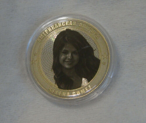 and producer. actress Russia 10 rubles 2014 Selena Gomez American singer
