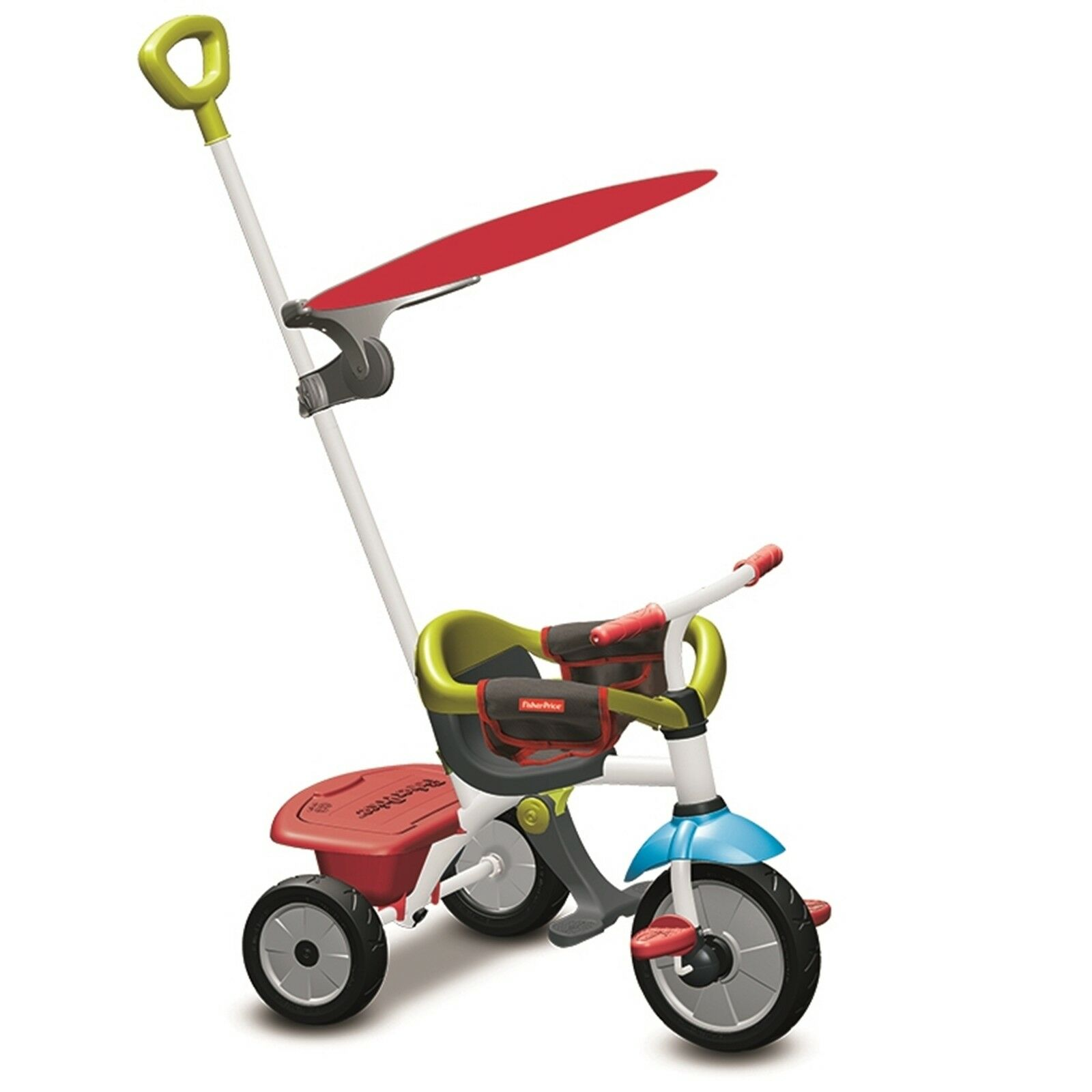 Fisher Price Dreirad Jolly Plus 3in1 von 12 - 36 Monate rot