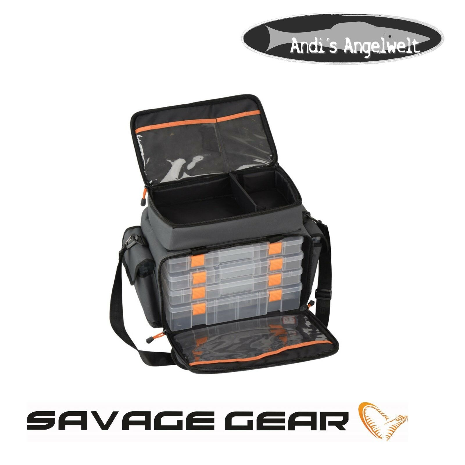 Savage Gear Lure specialeeist borsa M con 6 scatola 54770