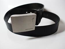 Pat Calvin Mens Leather Belt Black