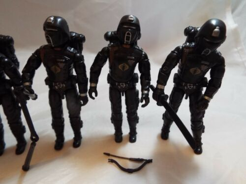 G.i.joe, ensemble de 6 figurines de force d'action pourpre de l'ombre pourpre à partir de 2005